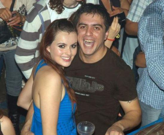 Johana Casas junto Victor Cingolani